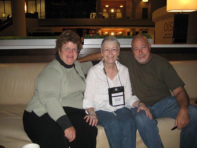 Charlaine Harris, Me, Reed Farrel Coleman, Indianapolis Bouchercon 2009