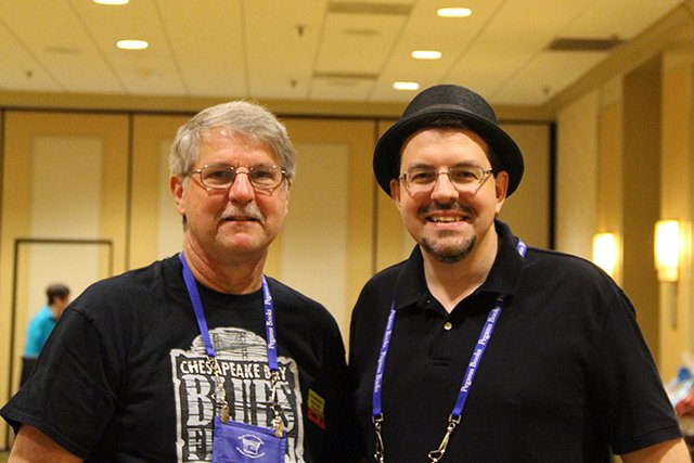 David Magayna And David Chaudoir - Bouchercon New Orleans 2016