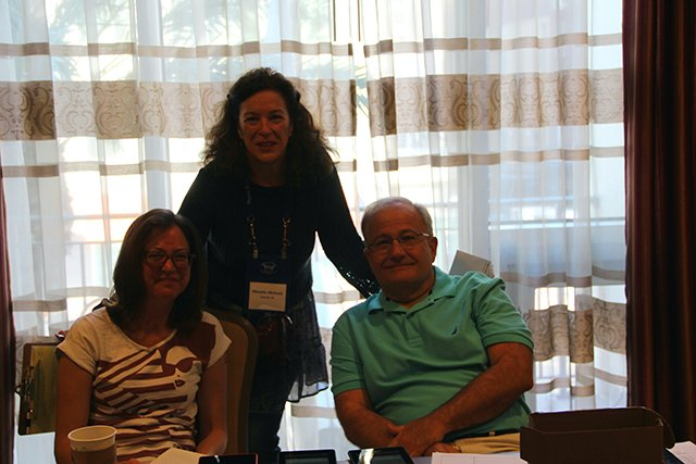 Erin Mitchell, Moni Draper And John Purcell - Bouchercon New Orleans 2016