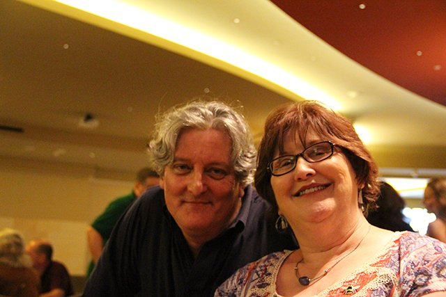 James Ziskin And Kathy Boone Reel - Bouchercon New Orleans 2016