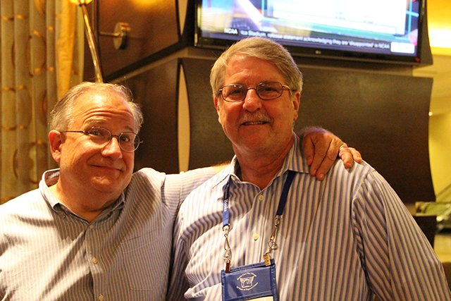 John Purcell And David Magayna - Bouchercon New Orleans 2016