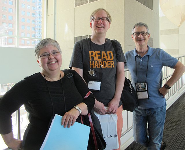 Lesa, Holstine, Kristopher Zgorski And Art Taylor - Raleigh Bouchercon 2015