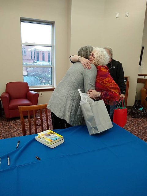 Louise And Me Hug