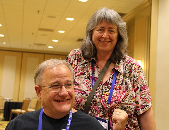 M\'Lou Greene And John Purcell - Bouchercon New Orleans 2016