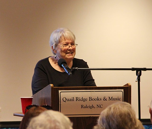 Margaret Maron Speaking At Quail Ridge Books For Margaret S Launch For Take Out - 2017