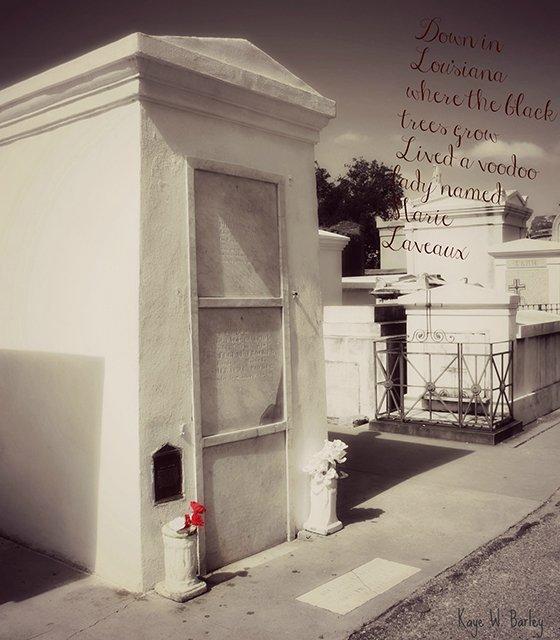Marie Laveaux Crypt - Bouchercon New Orleans 2016