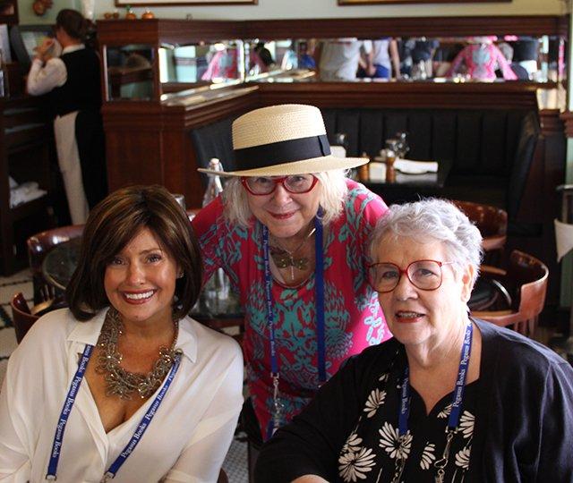 Maryglenn McCombs, Me, Molly Weston - Bouchercon New Orleans 2016