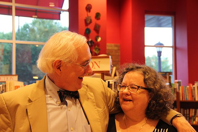 Steve And Sarah Shaber - Margaret Maron At Quail Ridge Books For Margaret S Launch For Take Out - 2017