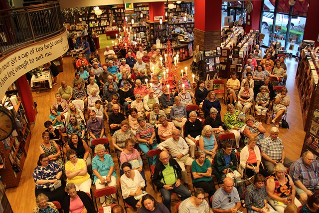 A Crowd For Margaret Maron At Quail Ridge Books For Margaret S Launch For Take Out - 2017