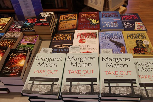 Books - Margaret Maron At Quail Ridge Books For Margaret S Launch For Take Out - 2017