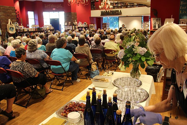 Champagne -Margaret Maron At Quail Ridge Books For Margaret S Launch For Take Out - 2017