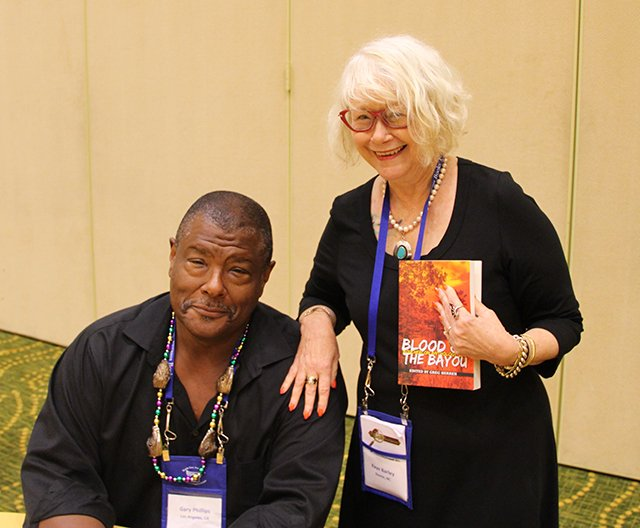 Me And Gary Phillips - Bouchercon New Orleans 2016