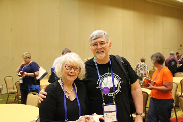 Me And John Bychowski - Bouchercon New Orleans 2016