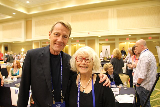 Me And Lee Child - Bouchercon New Orleans 2016