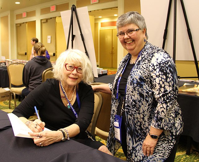 Me And Lesa Holstine - Bouchercon New Orleans 2016
