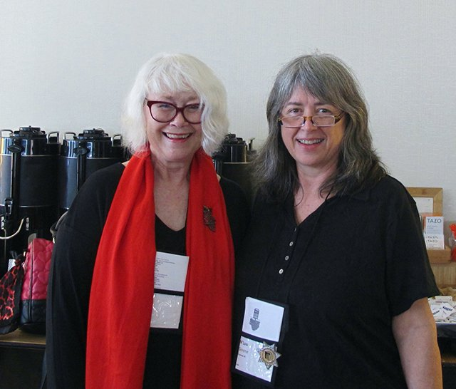 Me And M'Lou Greene, Raleigh Bouchercon 2015