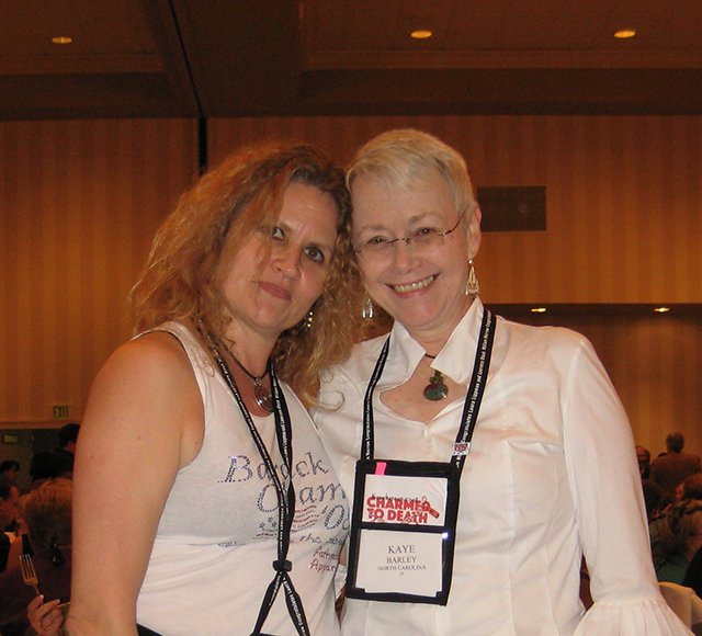 Me With Alex Sokoloff - Baltimore Bouchercon 2008