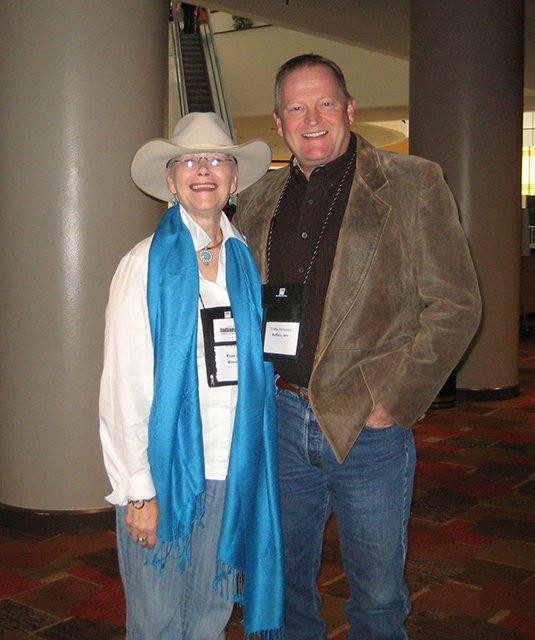 Me With Craig Johnson, Indianapolis Bouchercon 2009