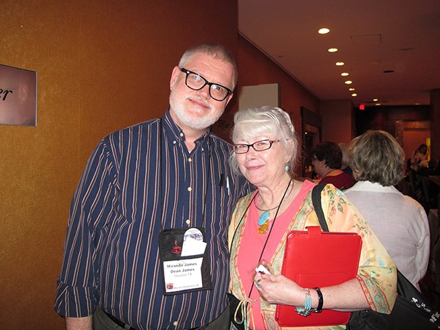 Me With Dean James, Malice Domestic 2012