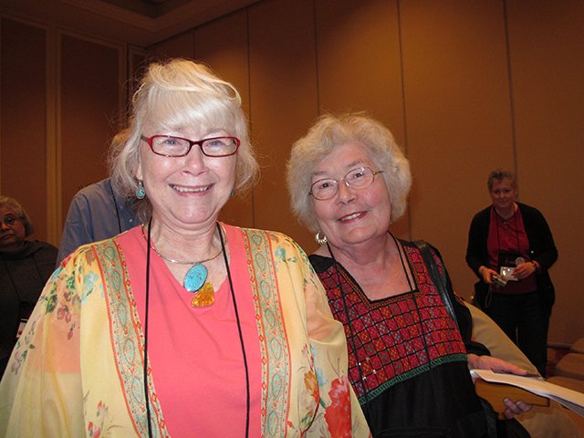 Me With Elizabeth Peters, Malice Domestic 2012