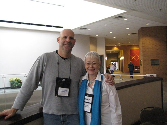 Me With Harlan Coben, Indianapolis Bouchercon 2009
