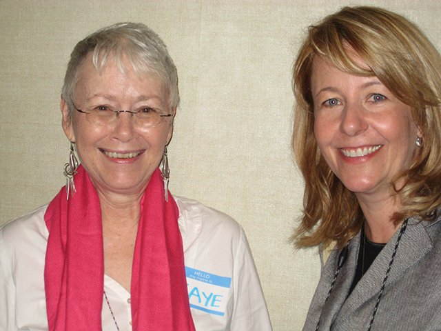 Me With Julie Hyzy, Indianapolis Bouchercon 2009