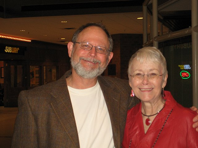 Me With Kent Krueger, Indianapolis Bouchercon 2009