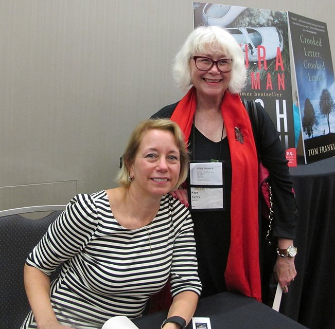 Me With Laura Lippman - Raleigh Bouchercon 2015