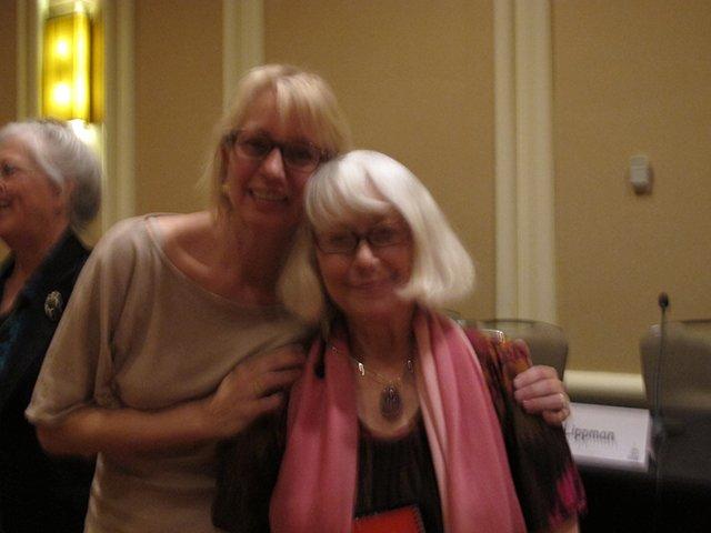 Me With Laura Lippman, Malice Domestic 2013