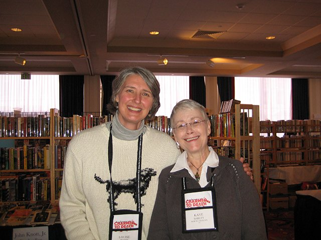 Me With Louise Penny - Baltimore Bouchercon 2008