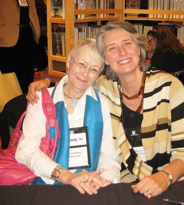 Me With Louise Penny, Indianapolis Bouchercon 2009