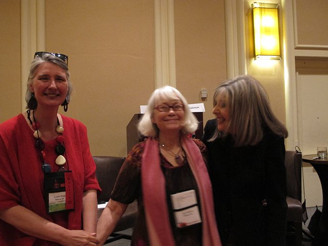Me With Louise Penny And Hank Phillippi Ryan, Malice Domestic 2013