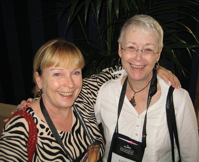 Me With Mary Jane Maffini - Baltimore Bouchercon 2008