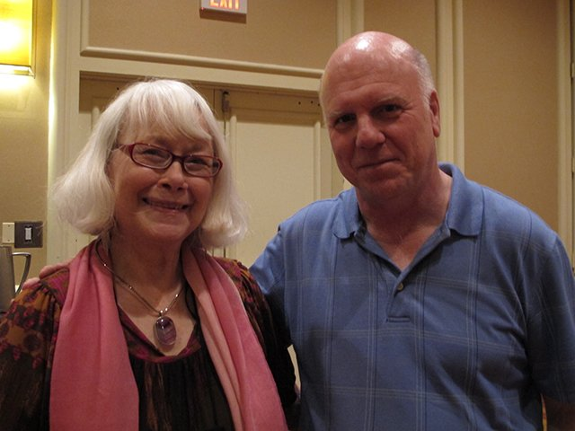 Me With Peter Robinson, Malice Domestic 2013