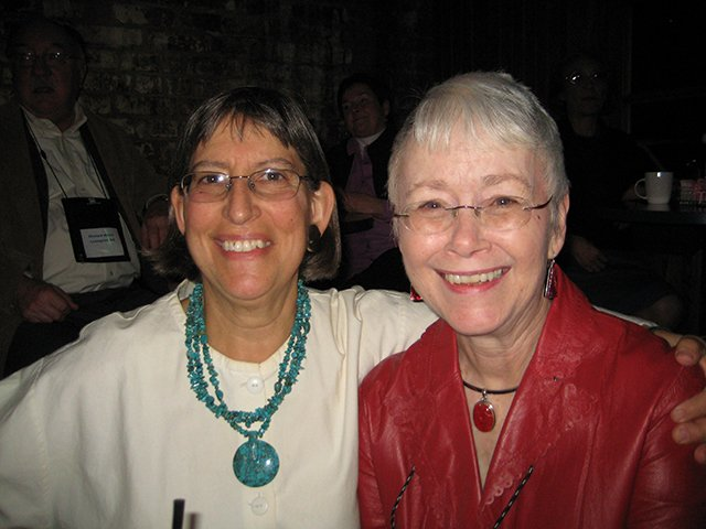 Me With S. J. Rozan, Indianapolis Bouchercon 2009