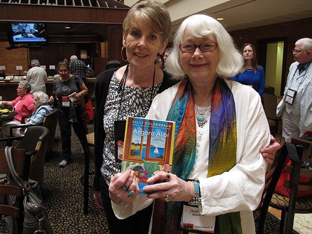 Me With Sally Goldenbaum, Malice Domestic 2013
