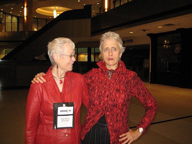 Me With Sarah Paretsky, Indianapolis Bouchercon 2009