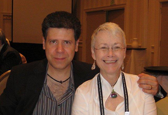 Me With Sean Chercover - Baltimore Bouchercon 2008