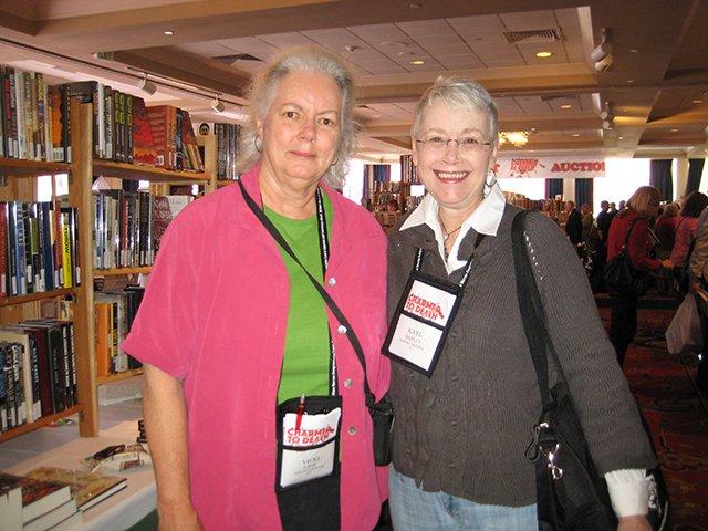Me With Vicki Lane - Baltimore Bouchercon 2008