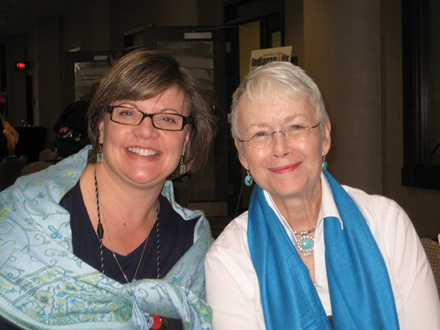 Me With Wendy Bartlett, Indianapolis Bouchercon 2009
