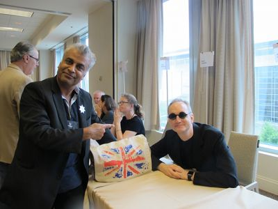 Ali Karim And Andrew Grant - Raleigh Bouchercon 2015