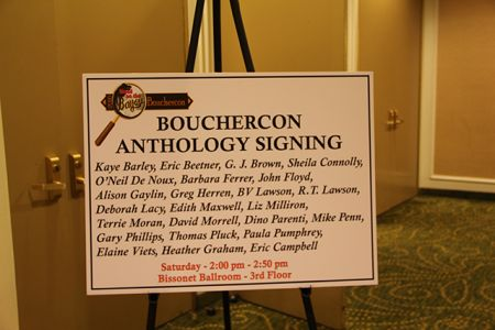 Anthology Signing - Bouchercon New Orleans 2016