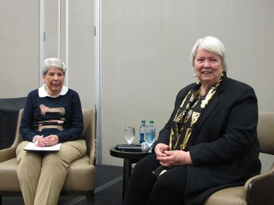 Caroline Todd And Margaret Maron - Raleigh Bouchercon 2015