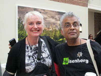 Catriona McPherson And Ali Karim - Raleigh Bouchercon 2015