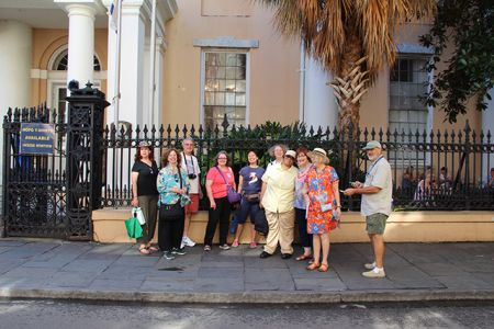 Cemetery Tour Group - Bouchercon New Orleans 2016