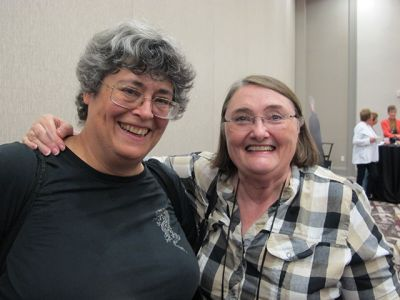 Donna Moore And Aubrey Nye Hamilton - Raleigh Bouchercon 2015