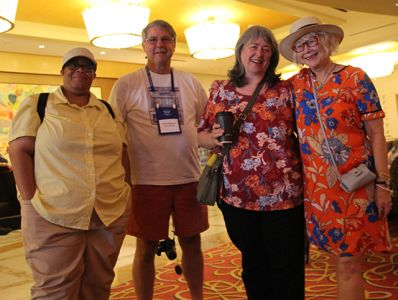 Dru Ann Love, David Magayna, M\'Lou Greene And Me - Bouchercon New Orleans 2016