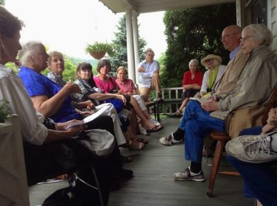Jones House Porch Panel - High Country Festival Of The Book 2014