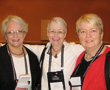 Judith Greber, Me, Margaret Maron - Baltimore Bouchercon 2008