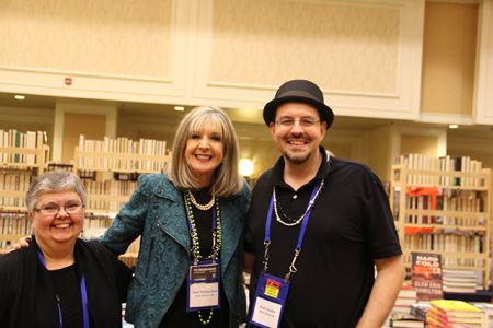 Lesa Holstine, Hank Phillipp Ryan, David Chaudoir - Bouchercon New Orleans 2016